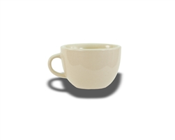 Cup, 7 oz., low, ceramic, Dover White