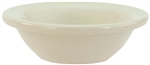 "Fruit Bowl, 3-1/2 oz., 4-1/4"", wide rim, ceramic, Dover White"