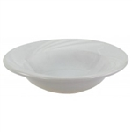 "Fruit Dish, 4 oz., 4-3/4"", wide rim, ceramic, Dover White"