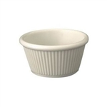 Winco Ramekin - Fluted - Bone Color - 1.5 Oz., (RFM 1B)