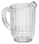 Royal Industries Plastic Pitcher - 60 Oz., (ROY 5700)