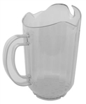 Royal Industries Pitcher - 3 Spout - Polycarb Clear - 60 Oz., (ROY 6701)