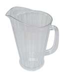 Royal Industries Pitcher - Tapered - Polycarb - 60 Oz., (ROY 6702)