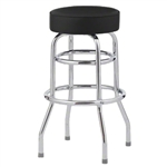 Royal Industries ROY-7712-B Chrome Swivel Bar Stool