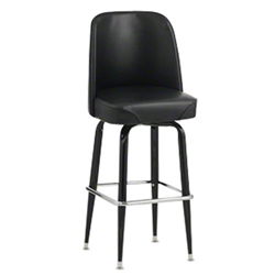 Royal Industries ROY-7714-B Swivel Bar Stool