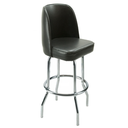 Royal Industries ROY-7721-B Chrome Swivel Bar Stool