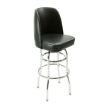 Royal Industries ROY-7722-B Chrome Swivel Bar Stool