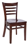 Royal Industries ROY-8001-W Ladder Back Wood Chair
