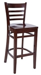 Royal Industries ROY-8002-W Wood Bar Stool