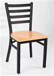 Royal Industries ROY-9001-N Ladder Back Metal Chair