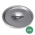 Royal Industries ROY-BM-6-C Bain Marie Pan Cover - 6 Qt.