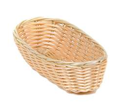 Royal Industries Plastic Rattan Cracker Basket, (ROY BP 4)