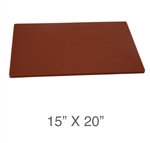 Royal Industries ROY-CB-1520-BR Cutting Board