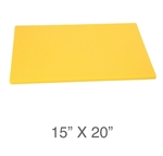 Royal Industries ROY-CB-1520-Y Cutting Board