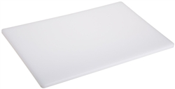 "Royal Industries White Cutting Board - 18"" x 24"" x 1/2"", (ROY-CB-1824-WHT)"