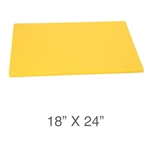 Royal Industries ROY-CB-1824-Y Cutting Board