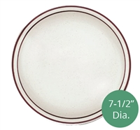 Royal Industries ROY CH P 7 Pueblo Collection 7-1/2 Inch diameter china plate.
