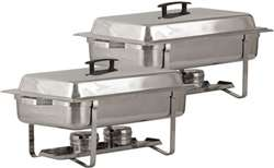 Continental 8 Qt Chafer Set - 2 Pack