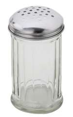 Royal Industries Glass Cheese Shaker - 12 Oz., (ROY CS 12 G)