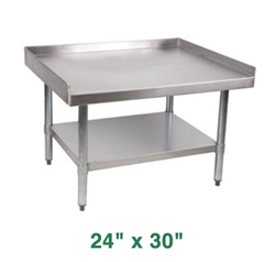 "Royal Stainless Steel Equipment Stand - 24"" X 30"""