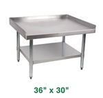 "Royal Stainless Steel Equipment Stand - 36"" X 30"""