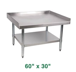 "Royal Stainless Steel Equipment Stand - 60"" X 30"""