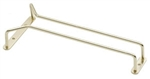 "Royal Industries Wire Glass Hanger - Brass - 10"", (ROY GH 10)"