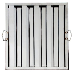 "Royal Industries Grease Filter - Stainless Steel - 16"" W X 20"" H, (ROY HF 1620)"