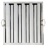"Royal Industries Grease Filter - Stainless Steel - 16"" W X 25"" H, (ROY HF 1625)"