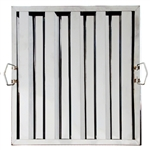 "Royal Industries Grease Filter - Stainless Steel - 20"" W X 20"" H, (ROY HF 2020)"
