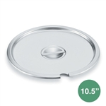 Royal Industries ROY-IST-10-1/2-C Vegetable Inset Cover - 10.5""