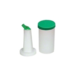 Royal Industries Plastic Pourer Bottles, Green - 1 Qt., (ROY PB 1 GRN)
