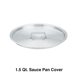 Royal Industries 1.5 Qt. Sauce Pan Cover (ROY RSP 1 L)