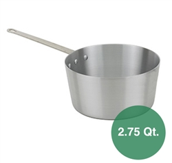 Royal Industries Aluminum Sauce Pan - 2.75 Qt.