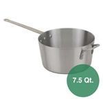 Royal Industries Aluminum Sauce Pan - 7.5 Qt.