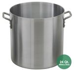 Royal ROY-RSPT-24-H Heavy Duty Aluminum Stock Pot - 24 Qt.