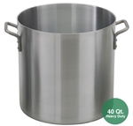 Royal ROY-RSPT-40-H Heavy Duty Aluminum Stock Pot - 40 Qt.