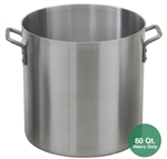 Royal ROY-RSPT-80-H Heavy Duty Aluminum Stock Pot - 80 Qt.