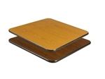 "Royal Industries Oak/Walnut Woodgrain Reversible Table Top - 30"" X 42"", (ROY RTT 3042 T)"