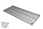 "18"" Deep x 48"" Long Poly Coated Zinc Wire Shelf"
