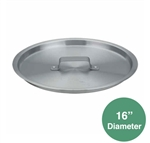 "Royal ROY-SAPT-36-HL Sauce Pot Cover - 16"" Dia."