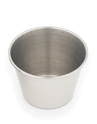 Royal Industries Sauce Cup - Stainless Steel - 2.5 Oz., (ROY SC 25)