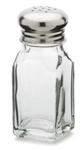 Royal Industries Square Salt & Pepper Shaker - 2 Oz., (ROY SPS 9)
