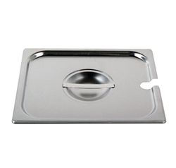 Cover For Half-Size Steam Table Pan With Utensil Notch (ROY STP 1200 2)
