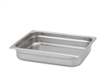 "Royal Heavy Duty Steam Table Pan - Half Size, 2.5"" Deep"