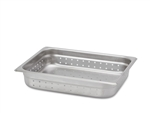 "Royal Perforated Steam Table Pan - Half Size, 2.5"" Deep"