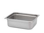 "Royal Heavy Duty Steam Table Pan - Half Size, 4"" Deep"