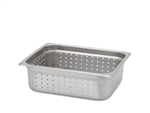"Royal Perforated Steam Table Pan - Half Size, 4"" Deep"