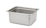 "Royal Heavy Duty Steam Table Pan - Half Size, 6"" Deep"