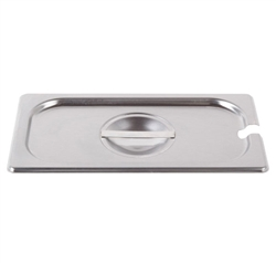Royal Industries Pan Lid - 1/3 Size, Notched